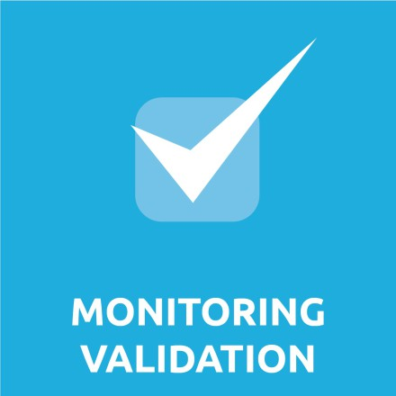 Industrie-salle-blanche (I&SB) - Savoir-faire monitoring validation pictogramme